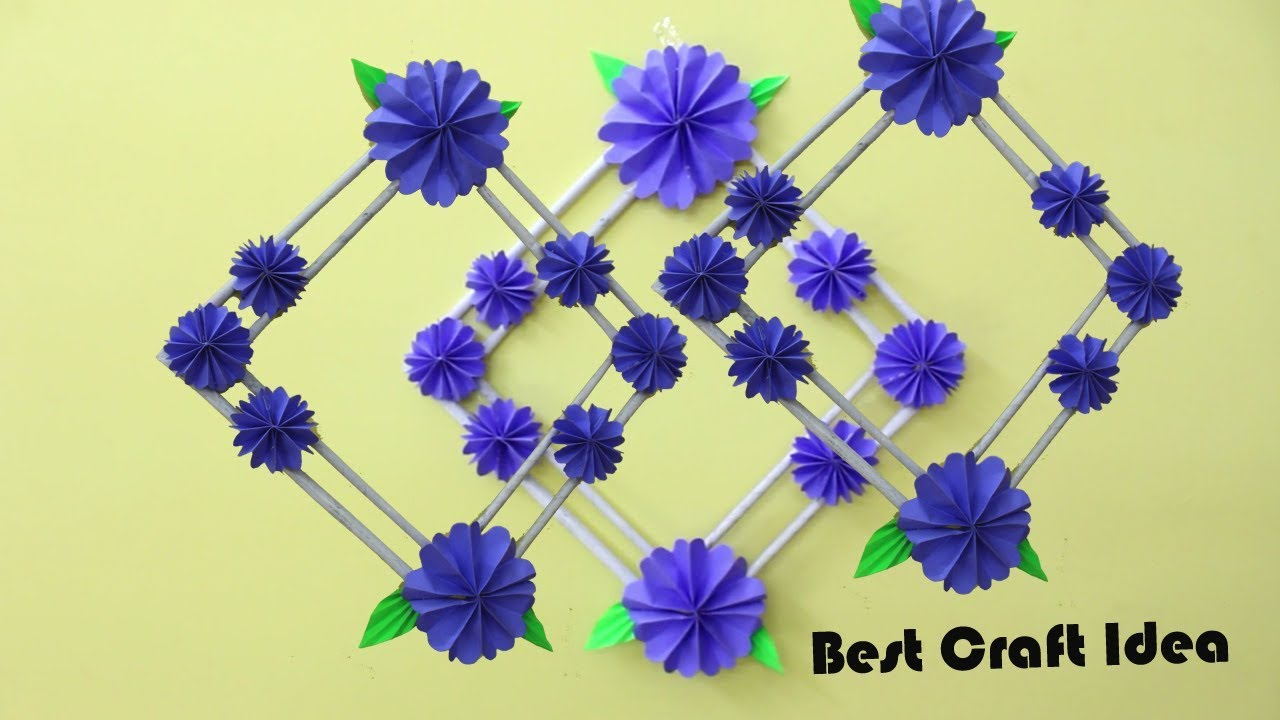 Home Decoration Craft Idea Diy Wall Hanging Crafts Awesome