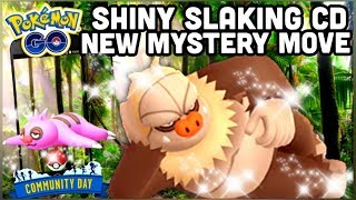 SHINY SLAKOTH COMMUNITY DAY IN POKEMON GO | SLAKING'S NEW MYSTERY MOVE