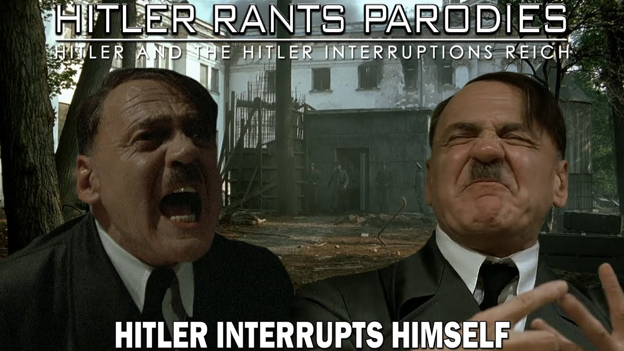 Hitler interrupts himself