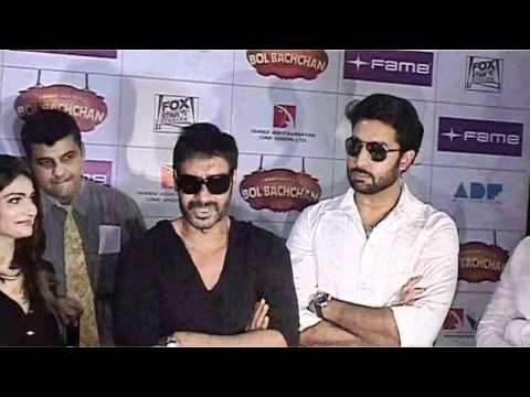 Cast Of Bol Bachchan Sell Tickets At Fame Adlabs
