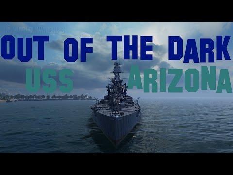 USS Arizona - World of Warships - 163k dmg Replay