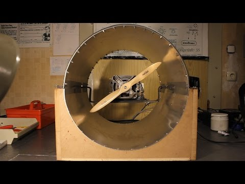 Trailer: Powerful Ducted Propeller with Washing Machine Motor