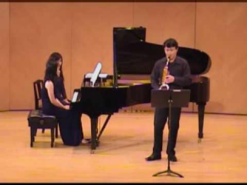 王 裕 文 薩 克 斯 風 獨 奏 會 Yu-Wen Wang Saxophone Recital-I.Lento Espressivo/Allegro/