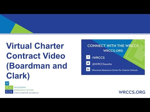 Virtual Charter Contract Video (Boardman and Clark)