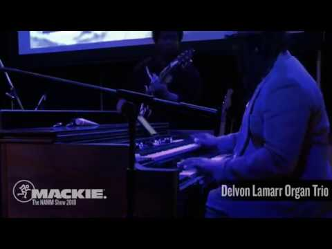 Delvon Lamarr Organ Trio LIVE at NAMM 2018