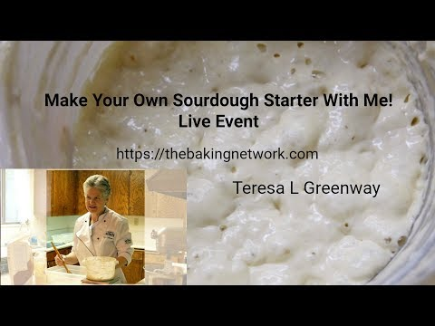 Day 3 - Make Your Own Sourdough Starter With Me! Live Event