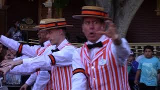 Disneyland Dapper Dans sing Halloween Songs