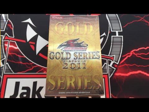 Yugioh Gold Series 2011 OCG Unboxing - Original Series Gold Rare Reprints