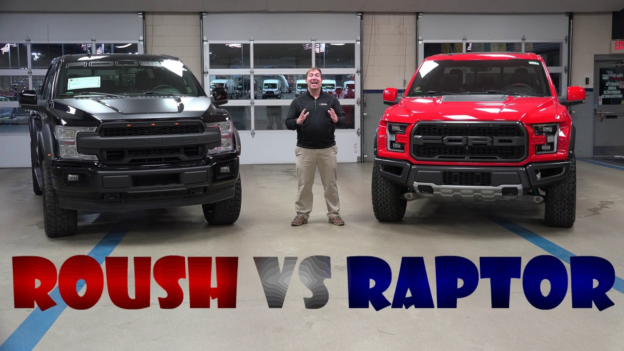 2018 raptor vs roush offroad f 150 trucks shelby ford 18 19 youtube. Black Bedroom Furniture Sets. Home Design Ideas