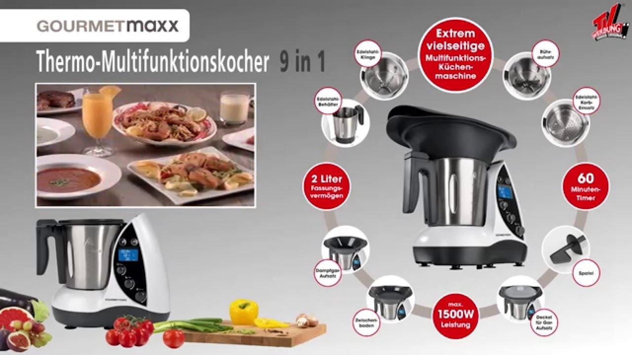 Lehner Versand Ag Gourmetmaxx Thermo Multikocher 9in1 Art 53916