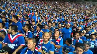 Ultras BOS Final Piala Malaysia 2014 Edisi Resit plus Chant at SBJ