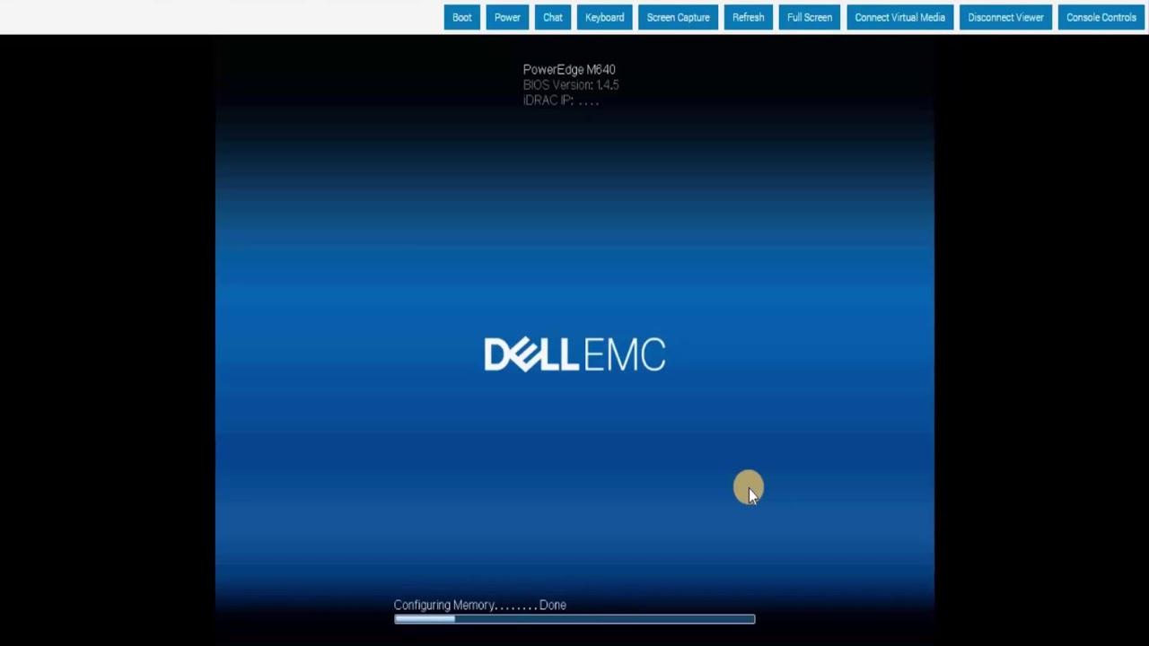 install windows server 2016 Datacenter in dell poweredge M640