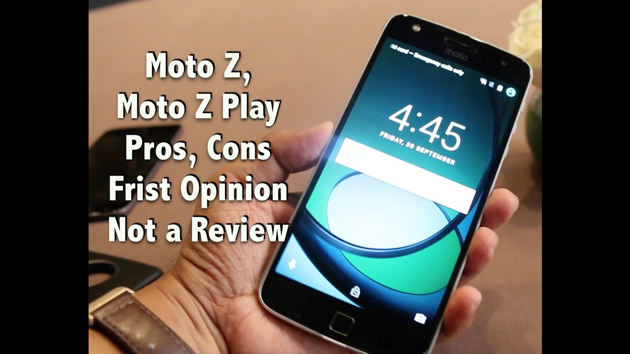 Moto z moto z play now available in india price specifications and - Hindi Moto Z Moto Z Play India Hands On India Price Pros Cons Not A Review Gadgets To Use Youtube