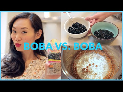 How to make Bubble Tea (Boba) & Brand Comparison
