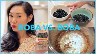 How to make Bubble Tea (Boba) & Brand Comparison