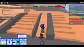 My awesome roblox skateing skillz (NOT XD)
