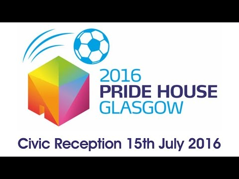 Pride House Glasgow 2016 Reception