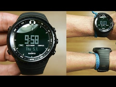 d9e61873a20 Suunto Core All Black   Outdoor watch - UNBOXING - YouTube