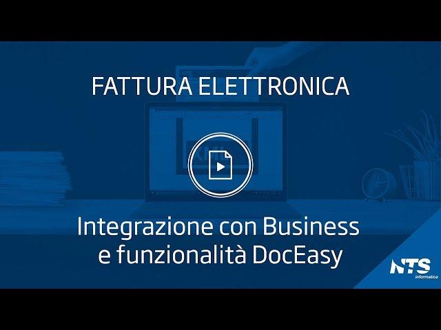 Hub digitale DocEasy - Integrazione con Business e funzionalità DocEasy
