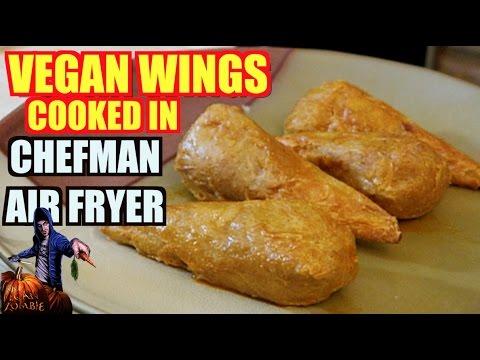 vegan-wings-cooked-in-chefman-air-fryer