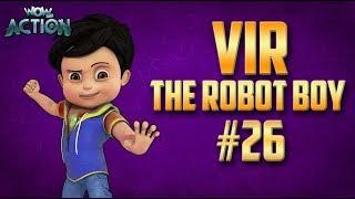 Vir: The Robot Boy | Hindi Cartoon Compilation For Kids | Compilation 26 | WowKidz Action