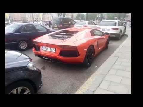 Supercars in Sweden