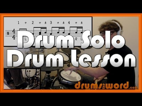 ★ Heart's All Gone (Blink 182) ★ Drum Lesson | How To Play Drum SOLO (Travis Barker)
