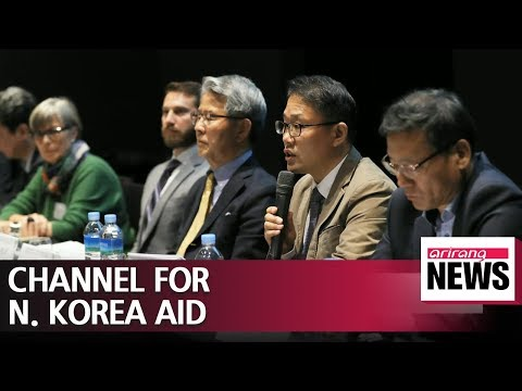 Humanitarian aid activists call for opening financial transaction channel with N. Korea