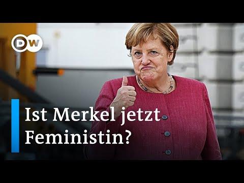 Angela Merkel sagt sie sei Feministin: Was hat sie dafür getan?   DW Nachrichten