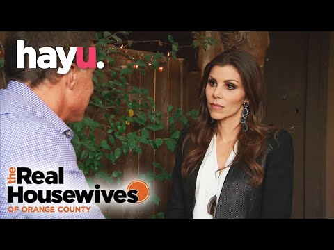 Terry Reveals He Threatened To Divorce Heather | The Real Housewives of Orange County