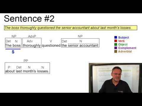 DAT_230 - The Functional Analysis Of Sentences (VLC Series #1)