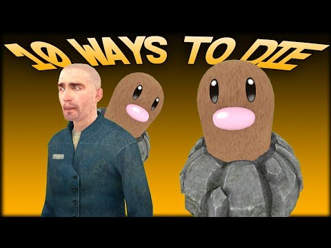 10 DUMB WAYS TO DIE TO DIGLETT! Gmod