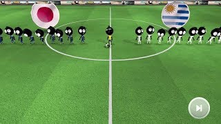 Stickman Soccer 2018 Android Gameplay #9