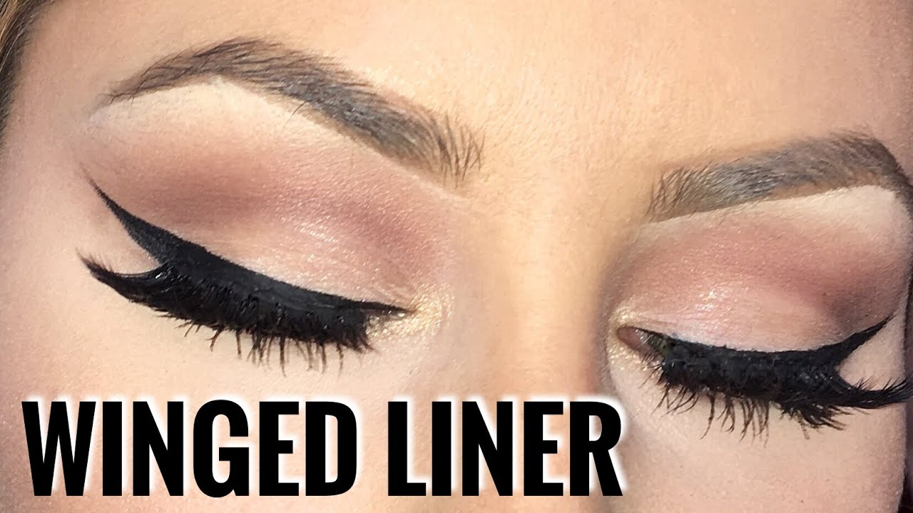 How to apply winged eyeliner like a pro chrisspy youtube ccuart Choice Image