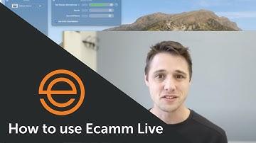 Ecamm Live Demo with co-founder Glen Aspeslagh