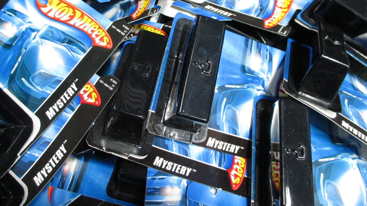 2007 Black Blister Mystery Cars Hidden Surprise Unboxing