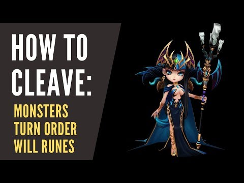 INTRODUCTION TO RTA CLEAVE: MONSTERS, TURN ORDER AND RUNES - Summoners War