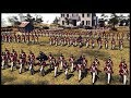 BRITISH 1812 LINE BATTALION! US Infantry Defend River Crossings - Men of War BITFA Mod Gameplay