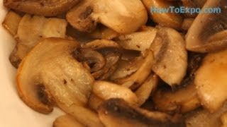 Sauteed Mushrooms Recipe How To Saute Mushrooms Quick And Easy