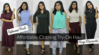 Uptownie.com Haul | Affordable Clothing Try-On Haul | Tops at ₹199, Jumpsuits at ₹499