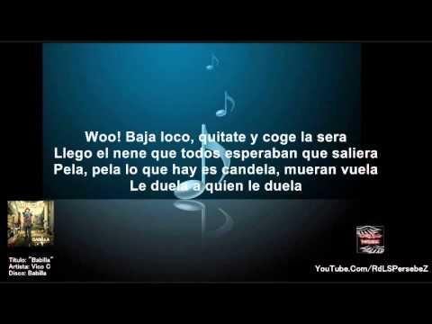 babilla (letra) - Vico C Babilla