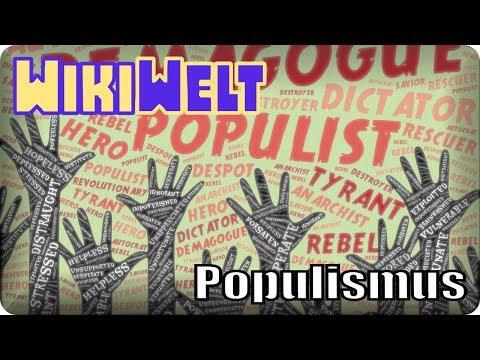 Populismus - meine WikiWelt #10