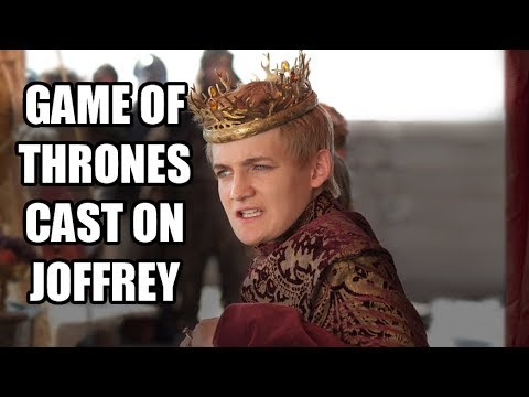 Game of Thrones Cast on Joffrey & Jack Gleeson