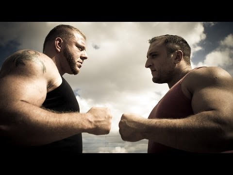 Germany VS Great Britain - Strongman Battle Of The Giants (eng sub)