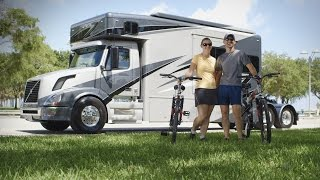 "Volvo Trucks - US couple lives the good life on the road - ""Welcome to My Cab"""