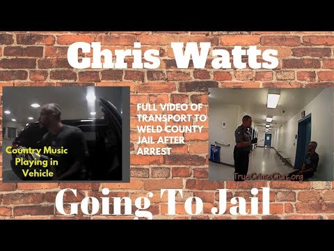 Chris Watts Full Video of Transport To WCJ - Reality Check