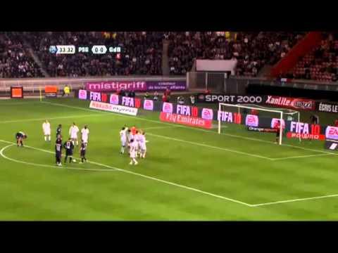 Paris SG 3 - 1 Bordeaux   (10-04-2010)   Ligue 1
