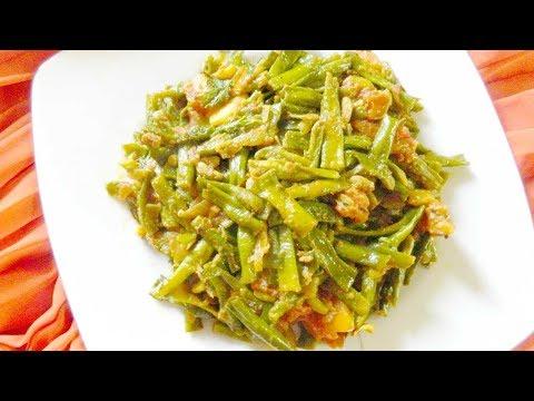 চটজলদি তৈরি করে ফেলুন বরবটির মজাদার রেসিপি । Borboti Shobji Recipe | Green Beans Bengali Recipe