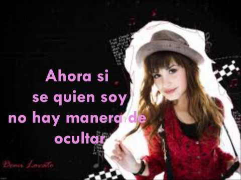 Lo que soy - Demi lovato + letra.