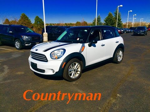 2013 MINI Cooper Countryman Start Up, In Depth Tour, and